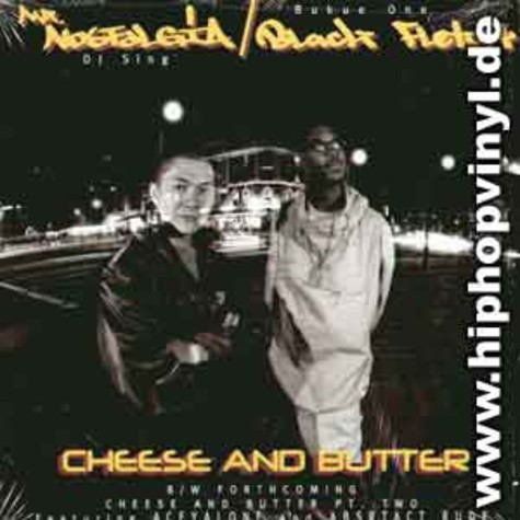 DJ Sing / Bukue One - Cheese & Butter