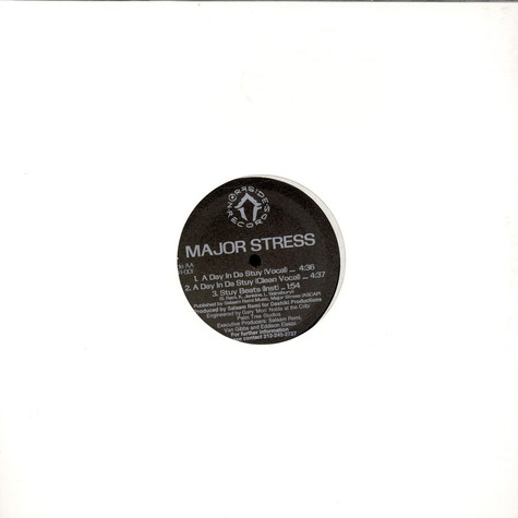 Major Stress - More And More