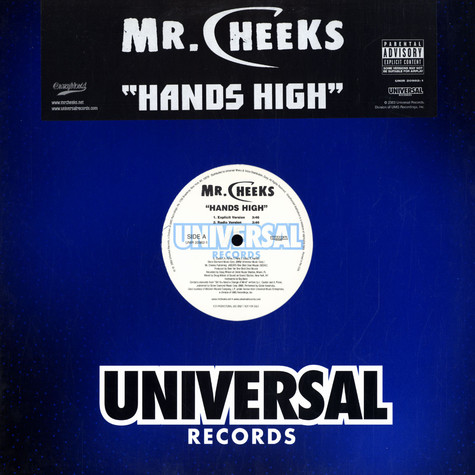 Mr.Cheeks of Lost Boyz - Hands high