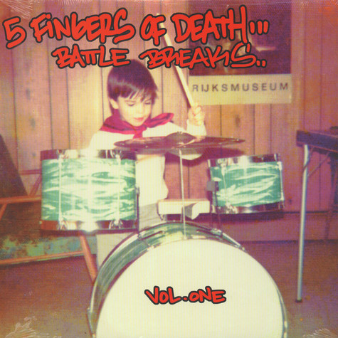 DJ Paul Nice - 5 fingers of death volume 1