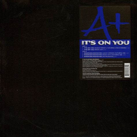 A+ - It's on you feat. Chico Debarge