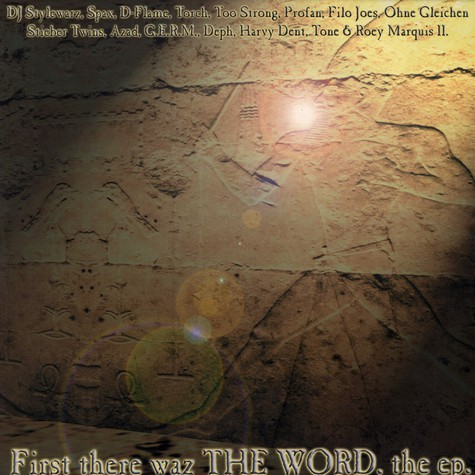 V.A. - First There Waz The Word. The EP.