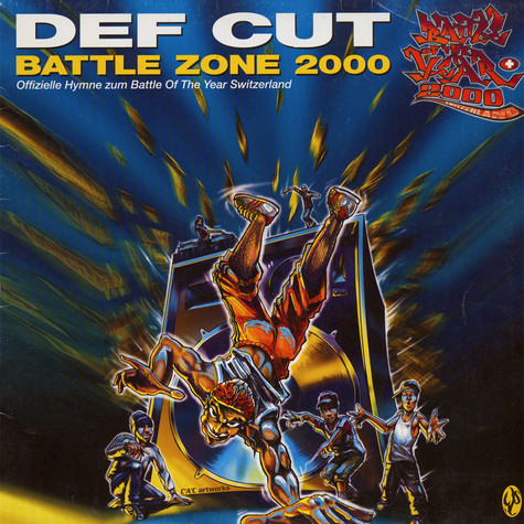 Def Cut - Battle Zone 2000