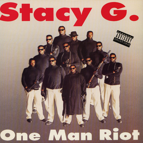Stacy G. - One Man Riot