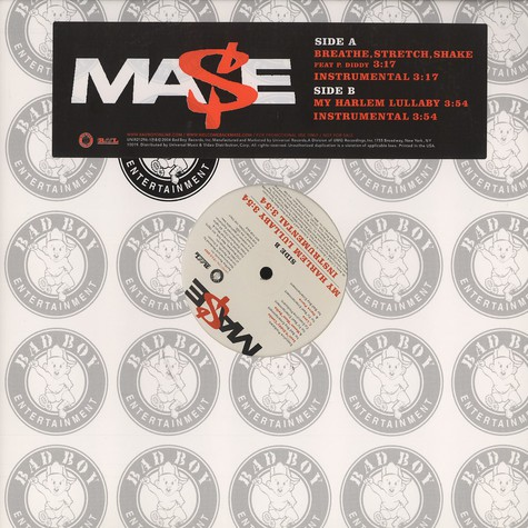 Mase - Breathe, stretch & shake feat. P.Diddy