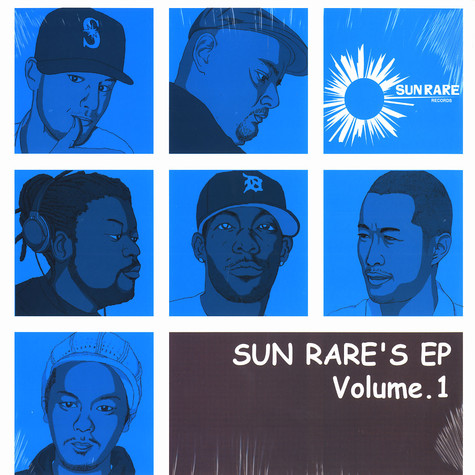 Sun Rare Records presents - Sun Rare's EP Volume 1