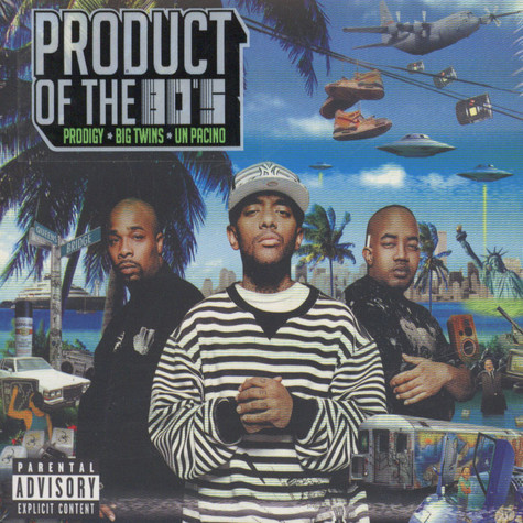 Prodigy of Mobb Deep, Big Twins & Un Pacino - Product of the 80's