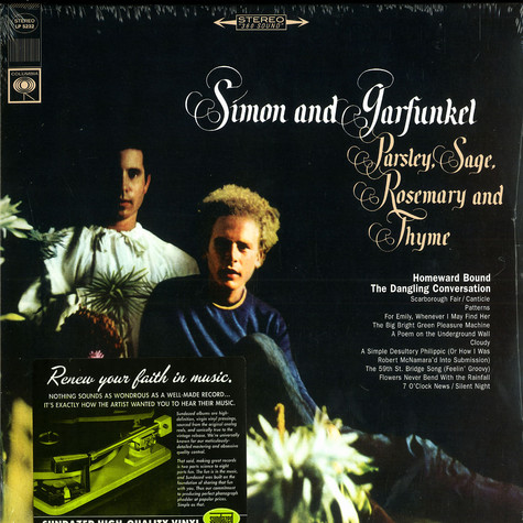 Simon & Garfunkel - Parsley, Sage, Rosemary & Thyme