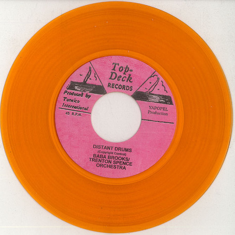 Baba Brooks & Trenton Spence Orchestra / Larry Marshall  - Distant drums / too young to love