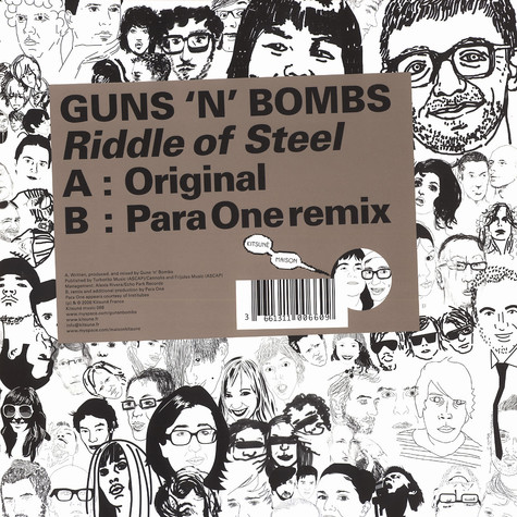 Guns N' Bombs - Riddle of steel