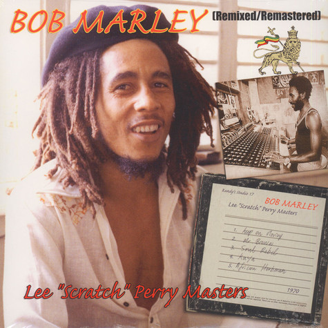 Bob Marley - Remixed / Remastered - The Lee Scratch Perry Masters