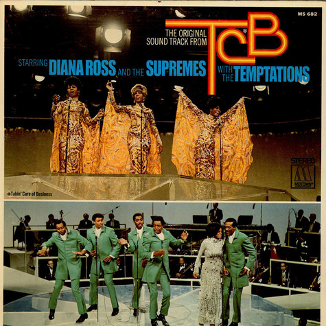Supremes & The Temptations, The - TCB OST (Takin' Care Of Business)