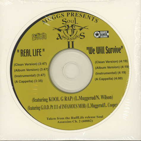 Soul Assassins - Real life feat. Kool G Rap