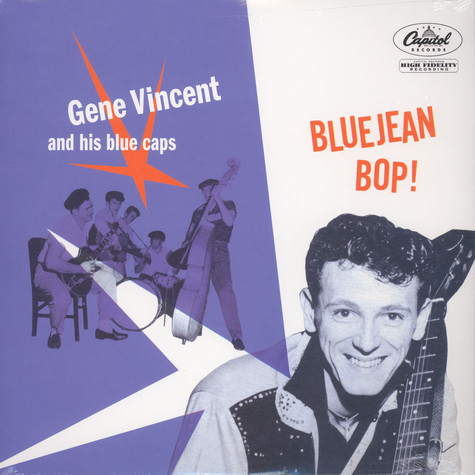 Gene Vincent And His Bluecaps - Bluejean Bop!