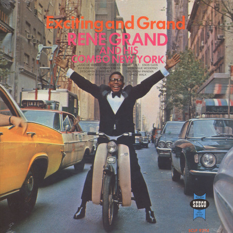 Rene Grand And His Combo New Yorkgrand - Exciting And Grand
