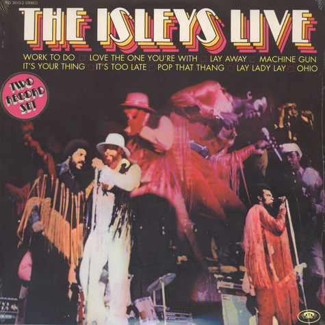 Isley Brothers, The - Isleys Live