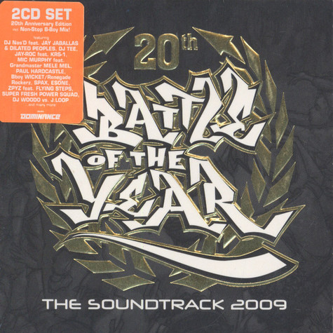 Battle Of The Year - 2009 - The Soundtrack