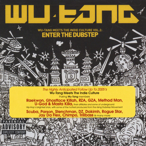 Wu-Tang Clan - Meets The Indie Culture Volume 2 - Enter The Dubstep