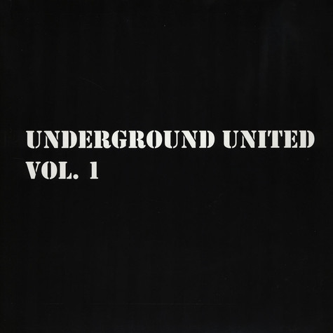 Underground United - Volume 1