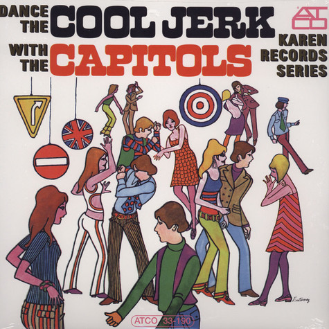 Capitols - Dance The Cool Jerk