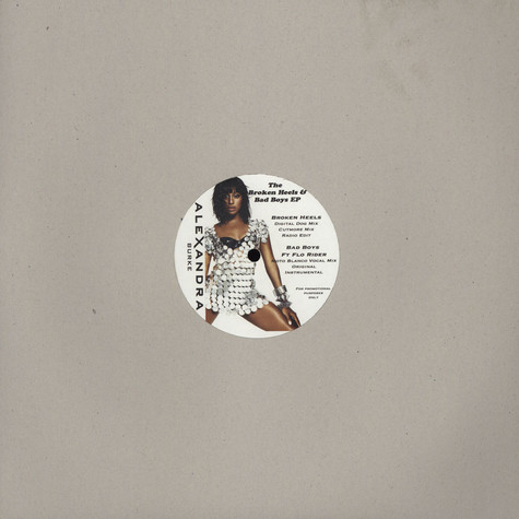 Alexandra Burke - The Broken Heels & Bad Boys EP