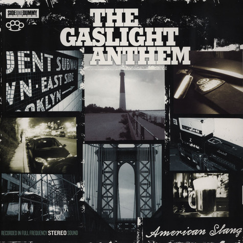 Gaslight Anthem, The - American Slang Black Vinyl Edition