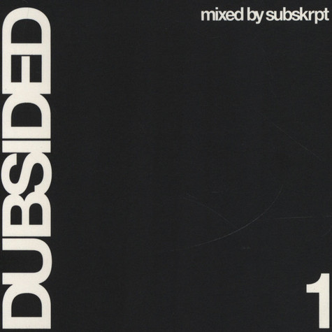 V.A. - Dubsided 1 - mixed by Subskrpt