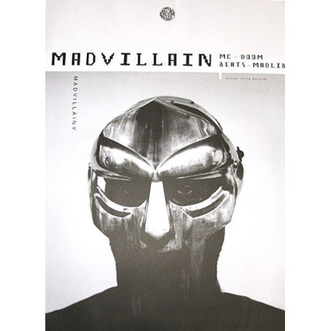 Madvillain (MF Doom & Madlib) - Madvillainy - The Poster