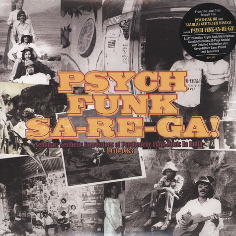 World Psychedelic Funk Classics - Psych Funk Sa-Re-Ga! - Seminar: Aesthetic Expressions of Psychedelic Funk Music in India 1970-83