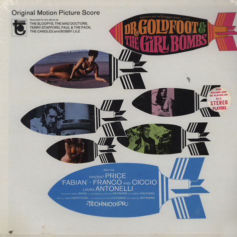 Dr. Goldfoot & The Girl Bombs - Original Soundtrack