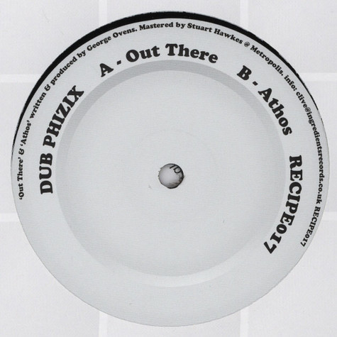 Dub Phizix - Out There