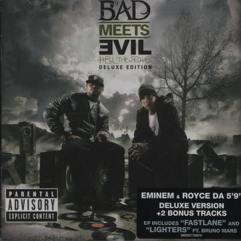 Bad Meets Evil (Royce Da 5'9 & Eminem) - Hell: The Sequel Deluxe Version
