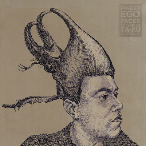 "Ta-ku / Pavel Dovgal - Finest Ego: Faces 12"" Series Volume 1"