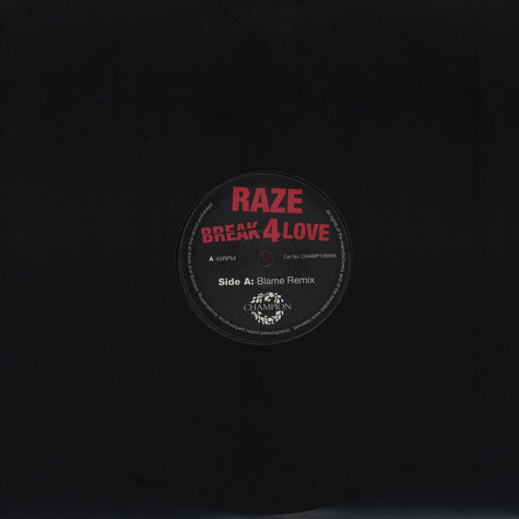 Raze - Break For Love Blame Remix