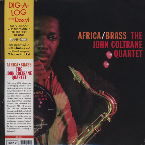 John Coltrane Quartet, The - Africa/brass