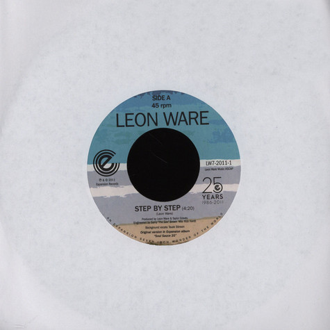 Leon Ware - Step By Step / On The Beach