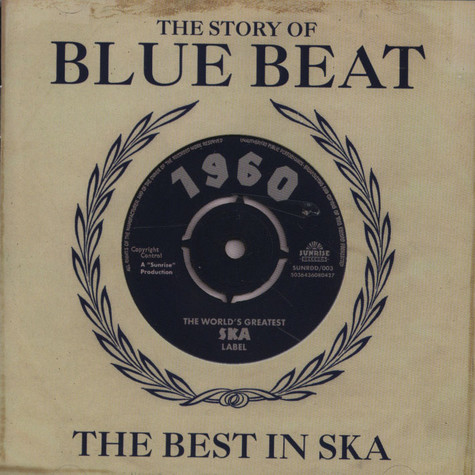 V.A. - Story of Blue Beat 1960: The Best In Ska