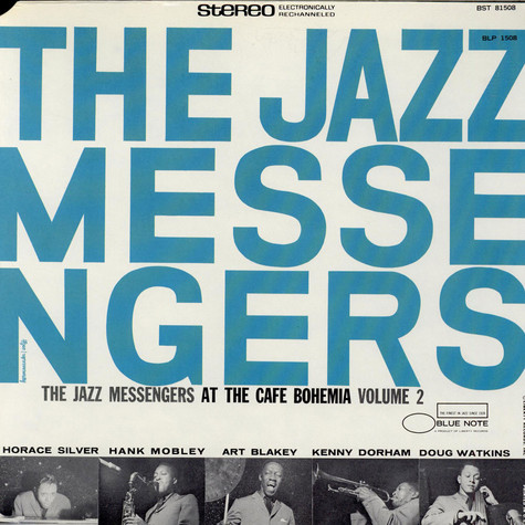 Art Blakey And The Jazz Messengers - At The Cafe Bohemia Volume 2