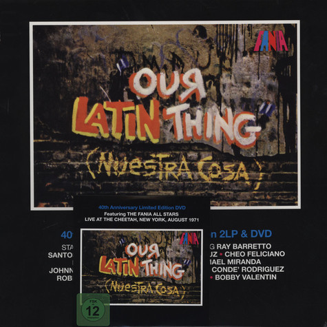 Fania All-Stars - Our Latin Thing (Nuestra Cosa): 40th Anniversary Edition