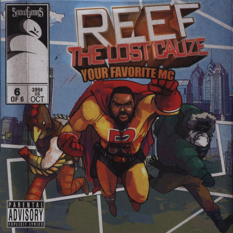 Snowgoons & Reef The Lost Cauze - Your Favorite MC