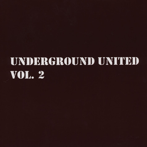 Underground United - Volume 2