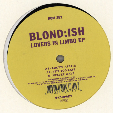 Blond:ish - Lovers In Limbo EP