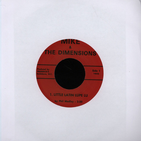 Mike & The Dimensions - Little Latin Lupe Lu