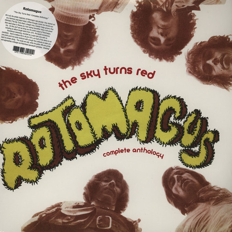 Rotomagus - The Sky Turns Red: Complete Anthology