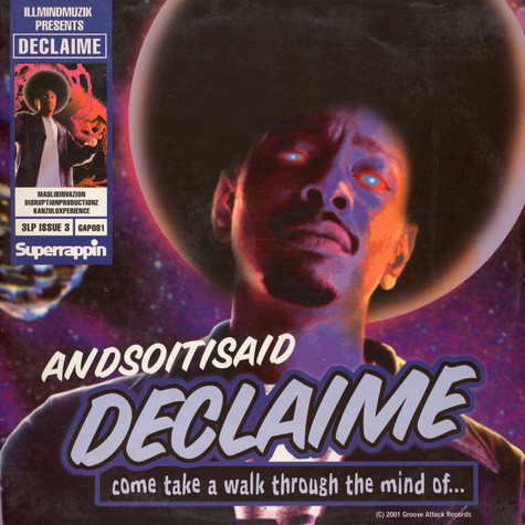 Declaime - Andsoitisaid