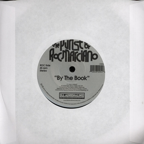 Purist, The & Roc Marciano - By The Book
