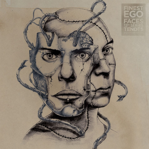 """Tendts / Daixie / Hanami - Finest Ego: Faces 12"""" Series Volume 5"""
