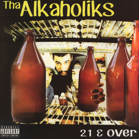 Alkaholiks - 21 & Over Colored Vinyl Edition