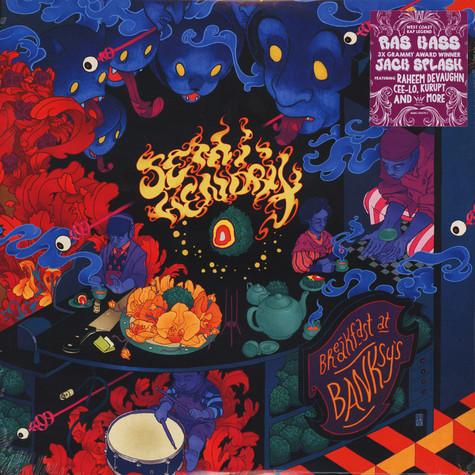 Semi Hendrix (Ras Kass & Jack Splash of Plant Life) - Breakfast At Banksy's Splatter Vinyl Edition