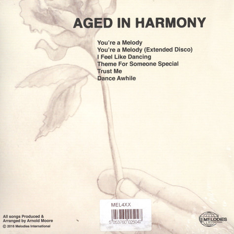 Aged In Harmony - You're A Melody